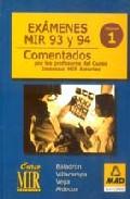 Portada de EXAMENES MIR Y FAMILIA AÑO 93-94