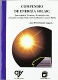Portada de COMPENDIO DE ENERGIA SOLAR: FOTOVOLTAICA, TERMICA Y TERMOELECTRICA