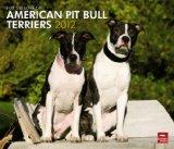 Portada de FOR THE AMERICAN PIT BULL TERRIERS 2012 CALENDAR