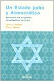 Portada de UN ESTADO JUDIO Y DEMOCRATICO: APROXIMACION AL SISTEMA CONSTITUCIONAL DE ISRAEL