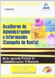 Portada de AUXILIARES DE ADMINISTRACION E INFORMACION  DE LA AGENCIA ESTATALDE ADMINISTRACION  TRIBUTARIA. TEMARIO
