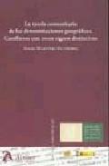 Portada de TUTELA COMUNITARIA DE LAS DENOMINACIONES GEOGRAFICAS: CONFLICTOS CON OTROS SIGNOS DISTINTOS
