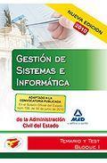 Portada de CUERPO DE GESTION DE SISTEMAS E INFORMATICA DE LA ADMINISTRACION DEL ESTADO. TEMARIO Y TEST BLOQUE I
