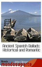 Portada de ANCIENT SPANISH BALLADS: HISTORICAL AND ROMANTIC