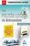 Portada de POLICIA LOCAL DE EXTREMADURA: TEST