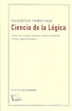 Portada de CIENCIA DE LA LOGICA