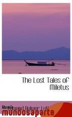 Portada de THE LOST TALES OF MILETUS