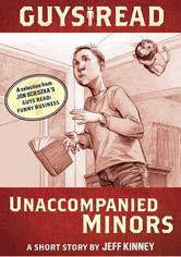Portada de GUYS READ: UNACCOMPANIED MINORS