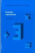 Portada de HACIENDO MATEMATICAS 3