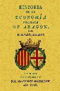 Portada de HISTORIA DE LA ECONOMIA POLITICA DE ARAGON