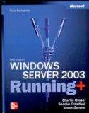 Portada de MICROSOFT WINDOWS SERVER 2003 RUNNING: GUIA COMPLETA