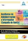 Portada de AUXILIARES DE ADMINISTRACION E INFORMACION  DE LA AGENCIA ESTATALDE ADMINISTRACION  TRIBUTARIA. TEST