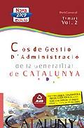 Portada de COS GESTIO D  ADMINIDTRACIO DE LA GENERALITAT DE CATALUNYA. ESCALA GESTION, PARTE GENERAL. TEMARIO II
