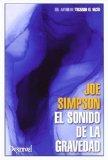 Portada de SONIDO DE LA GRAVEDAD, EL (LITERATURA DE MONTAÑA)