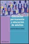 Portada de EDUCACION PERMANENTE Y EDUCACION DE ADULTOS: INTERVENCION SOCIOEDUCATIVA ADULTA
