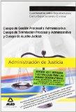Portada de CUERPOS ADMON DE JUSTICIA: CUERPO GESTION Y ADMINISTRATIVA, CUERPO DE AUXILIO JUDICIAL. CUESTIONARIOS SOBRE ENJUICIAMIENTO CIVIL Y ENJUICIAMIENTO CRIMINAL