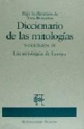 Portada de DICCIONARIO DE MITOLOGIAS IV