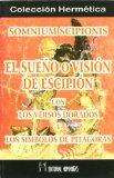 Portada de SOMNIUM SCIPIONIS= EL SUEÑO O VISION DE ESCIPION CON LOS VERSOS D
