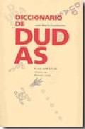 Portada de DICCIONARIO DE DUDAS