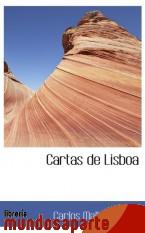 Portada de CARTAS DE LISBOA