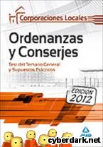 Portada de ORDENANZAS Y CONSERJES DE CORPORACIONES LOCALES. TEST DEL TEMARIO GENERAL Y SUPUESTOS PRÁCTICOS - EBOOK