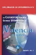 Portada de DIPLOMADOS EN ENFERMERIA/ATS DEL CONSORCIO HOSPITAL GENERAL UNIVERSITARIO DE VALENCIA. TEMARIO VOL. III