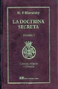 Portada de LA DOCTRINA SECRETA, V. 5: CIENCIA, RELIGION Y FILOSOFIA