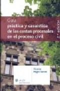 Portada de GUIA PRACTICA Y CASUISTICA DE LAS COSTAS PROCESALES EN EL PROCESOCIVIL