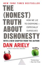 Portada de THE HONEST TRUTH ABOUT DISHONESTY