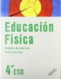 Portada de EDUCACIÓN FÍSICA 4º ESO. CUADERNO DE EJERCICIOS