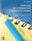 Portada de EJERCICIOS DE INTRODUCCION A LA MACROECONOMIA