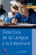Portada de DIDACTICA DE LA LENGUA Y LA LITERATURA
