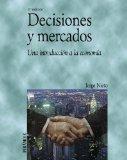 Portada de DECISIONES Y MERCADOS