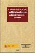 Portada de COMENTARIOS LEY PATRIMONIO ADMINISTRACIONES PUBLICAS
