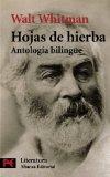 Portada de HOJAS DE HIERBA: ANTOLOGIA BILINGÜE