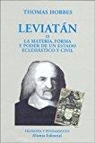 Portada de LEVIATAN: LA MATERIA, FORMA Y PODER DE UN ESTADO ECLESIASTICO Y CIVIL