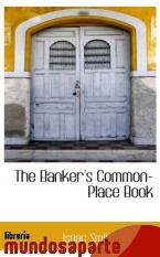 Portada de THE BANKER`S COMMON-PLACE BOOK