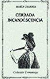 Portada de CERRADA INCANDESCENCIA