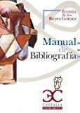 Portada de MANUAL DE BIBLIOGRAFIA