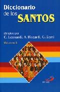Portada de DICCIONARIO DE LOS SANTOS