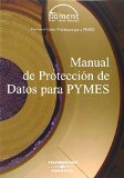 Portada de MANUAL PROTECCION DATOS PYMES