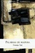 Portada de PALABRAS DE MADERA