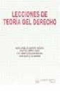 Portada de LECCIONES DE TEORIA DEL DERECHO