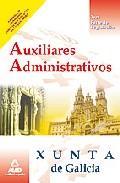 Portada de AUXILIARES ADMINISTRATIVOS DE LA XUNTA DE GALICIA.TEST