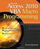 Portada de MICROSOFT ACCESS 2010 VBA MACRO PROGRAMMING