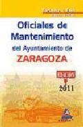 Portada de OFICIALES DE MANTENIMIENTO DEL AYUNTAMIENTO DE ZARAGOZA. TEMARIO Y TEST MATERIAS JURIDICAS