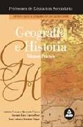 Portada de GEOGRAFIA-HISTORIA, TEMARIO PRACTICO: PREPARACION PROFESORES EDUCACION SECUNDARIA