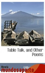 Portada de TABLE TALK, AND OTHER POEMS