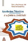 Portada de AYUDANTES TECNICOS DE MEDIO AMBIENTE DE LA JUNTA DE ANDALUCIA.TEST Y RESUMENES TEMA ESPECIFICO