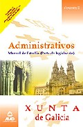 Portada de ADMINISTRATIVOS DE LA XUNTA DE GALICIA. MANUAL DE ESTUDIO. . VOLUMEN II